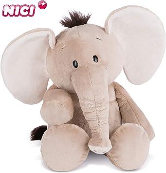 NICI Plüschtier Crazy Friday Elefant 50 cm – Elefant Kuscheltier für Jungen, Mädchen & Babys – Flauschiges Stofftier zum Kuscheln, Spielen und