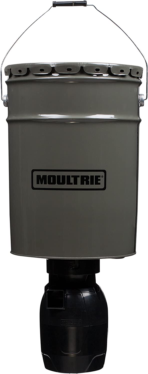 Moultrie MFG-13282 6.5 Gallon Directional Hanging Feeder
