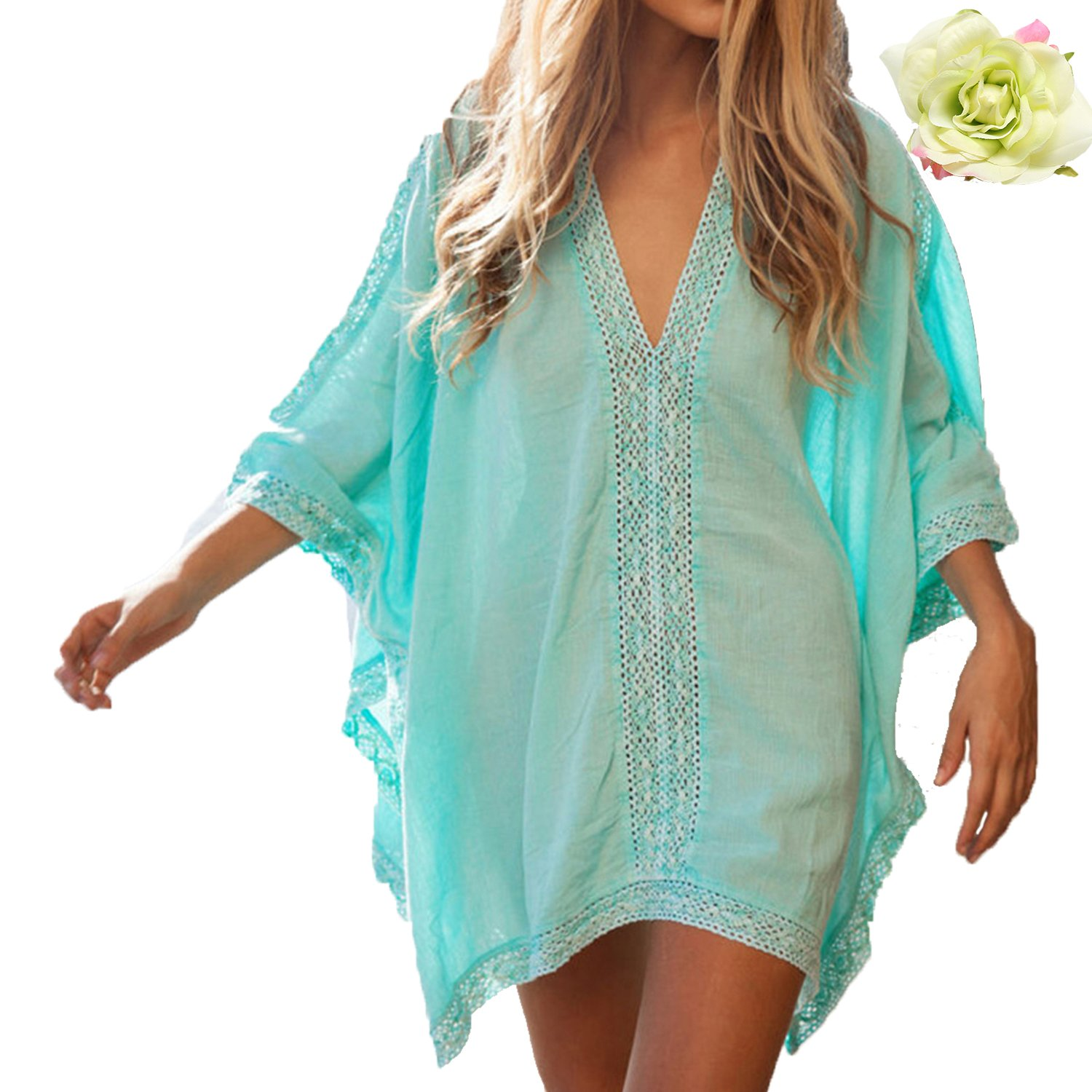 98012f823c  MATERIAL   Our sexy bikini cover ups is made of 80% cotton and 20%  polyester