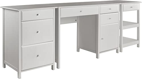 Winsome Wood Delta 3-Pc Set Home Office