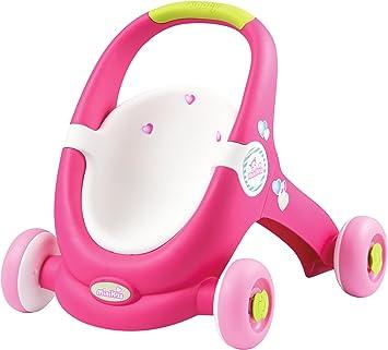 Smoby - 210201 - Minikiss - Baby Walker - Porteur Poussette Poupon