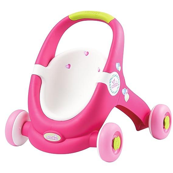 Amazon.es: Smoby - Cochecito para muñeco bebé (210201): Juguetes y ...