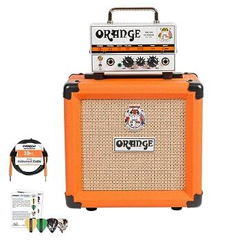 Amazon.com: Orange Micro Terror MT20 and PPC108 Cabinet Half Stack ...