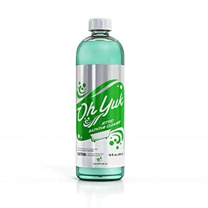 Amazon Com Oh Yuk Jetted Tub Cleaner For Jacuzzis Bathtubs And