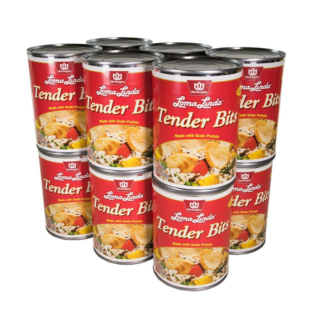 Loma Linda - Vegan - Tender Bits (19 oz.) (Pack of 12) - Kosher