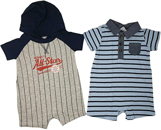 Carters Baby Boys 1 Piece Footies and Rompers