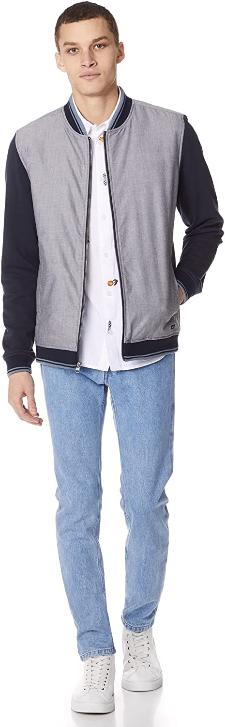 RVCA Mens Oxford Bomber Jacket