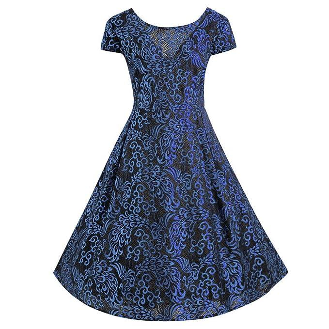 Berimaterry Vestido Mujer Vestidos de Mujer Falda Vestido de Noche ...