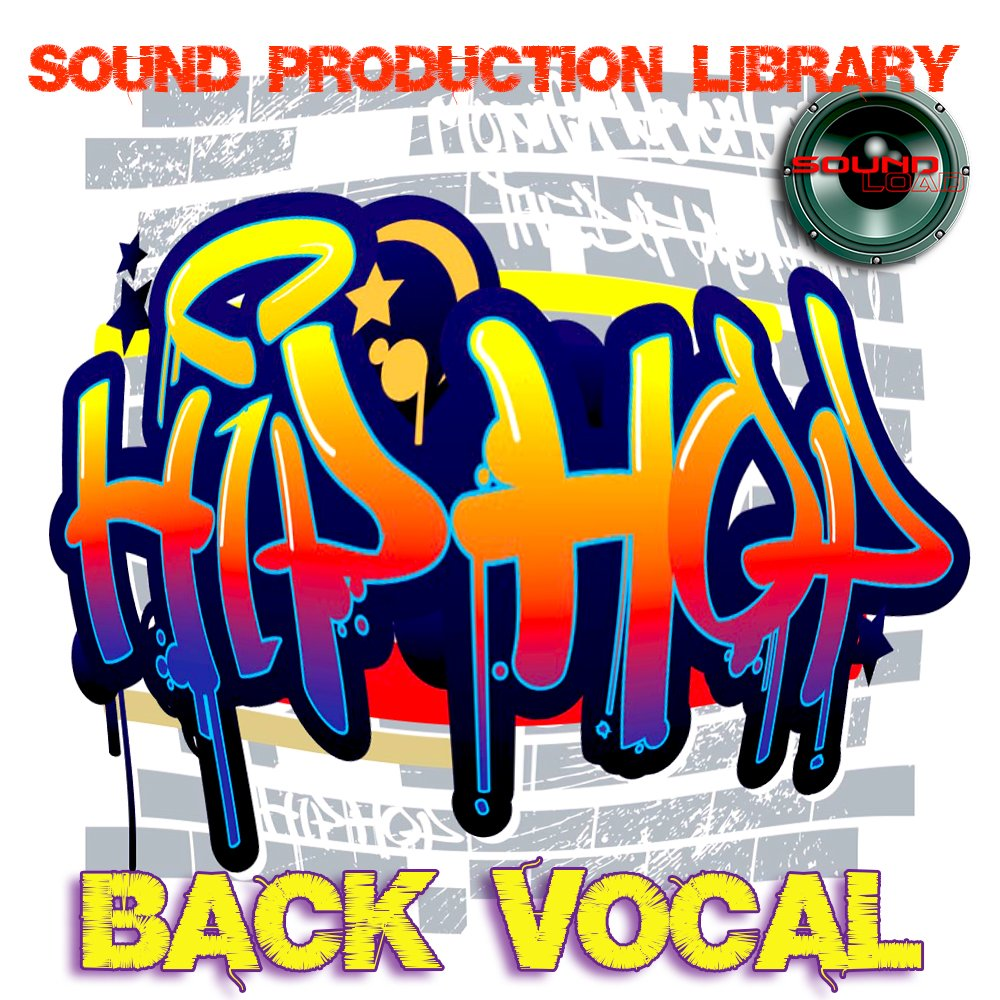Hip-Hop Back Vocal - Large unique 24bit WAVE/KONTAKT Multi-Layer Studio Samples Production Library on DVD or download by SoundLoad