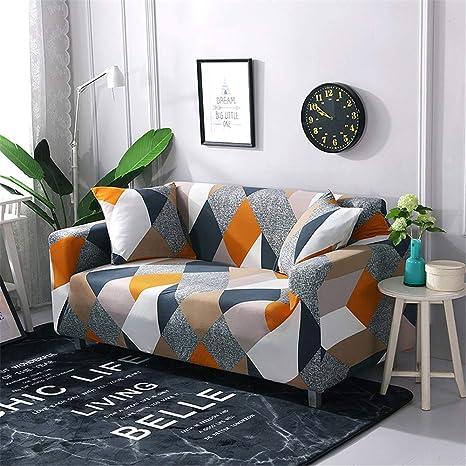 Funda de sofá elástica, Sala de Estar Extensible Dibujo ...