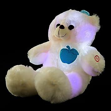 Wewill Marca Adorable LED encender hasta el oso de peluche ...
