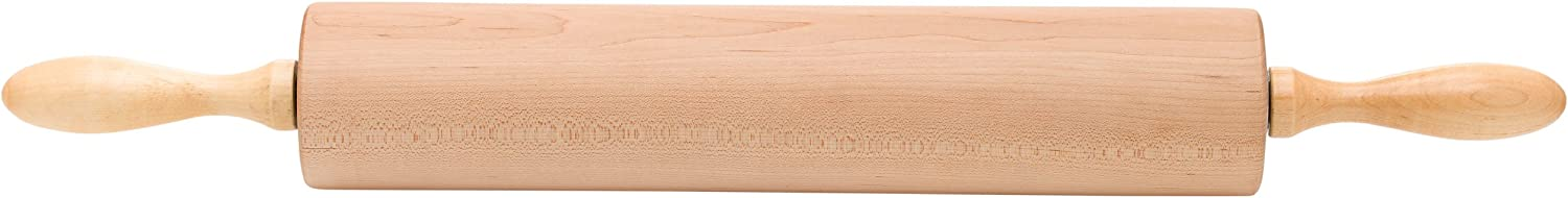 Ateco 15300 Professional Rolling Pin, 15-Inch Barrel, Made of Solid Rock Maple, Made in the USA