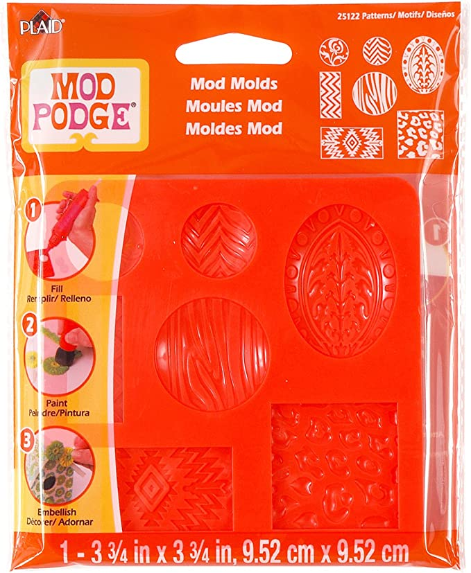 25130 Trinkets 3-3//4 by 7-1//2-Inch Mod Podge Mod Mold