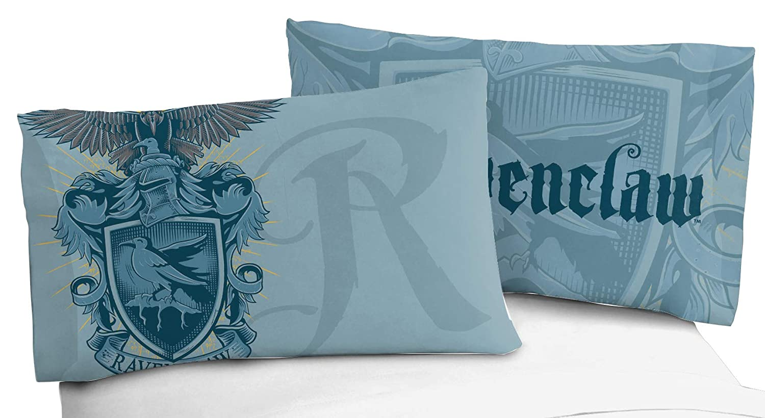 Official Harry Potter Product Jay Franco Harry Potter House of Ravenclaw Kids Super Soft Double-Sided 1 Pack Pillowcase