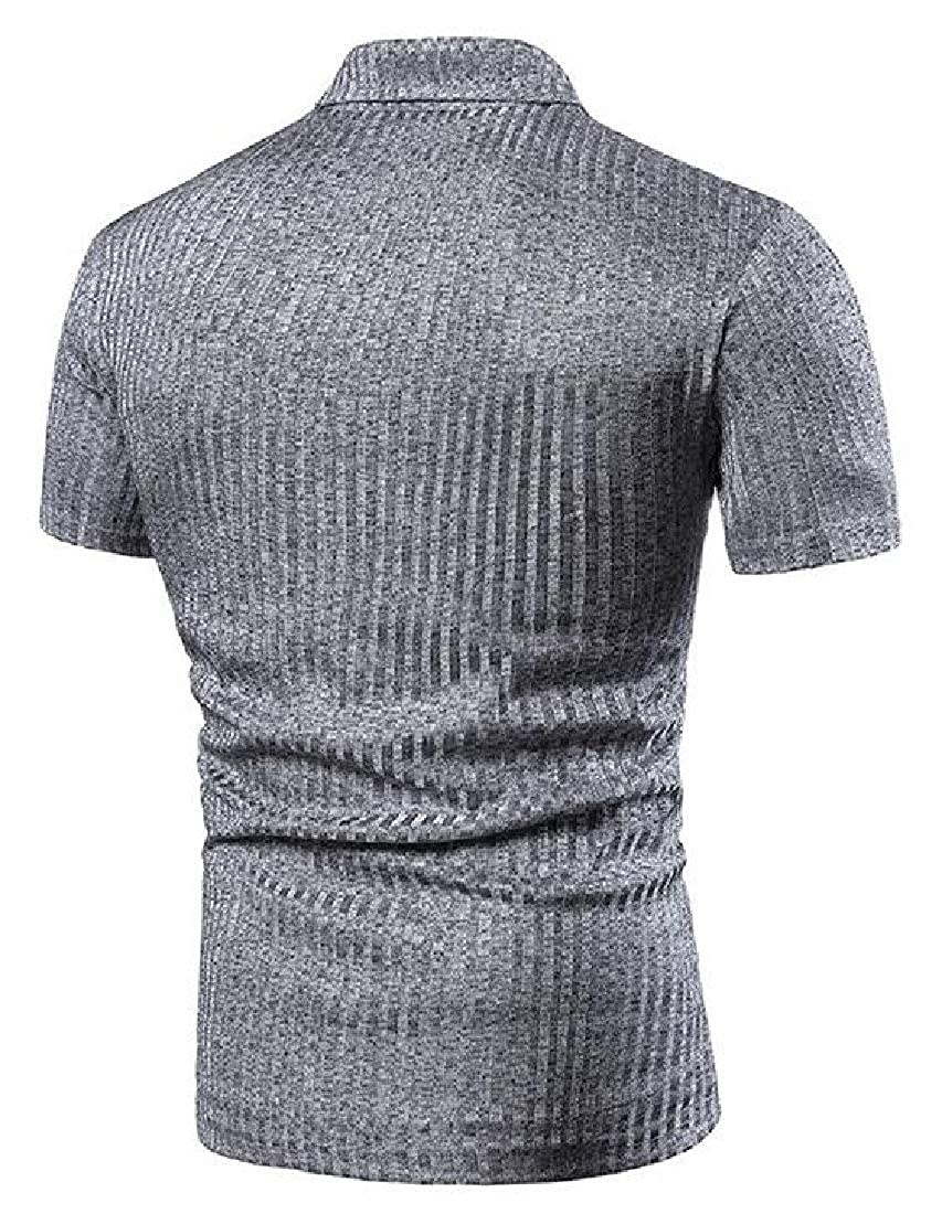 omniscient Mens Basic Polo Shirts Short Sleeve Cotton Tee T-Shirts Tee