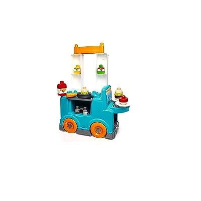 Mega Bloks First Builders Food Truck Kitchen Building Set: Toys & Games