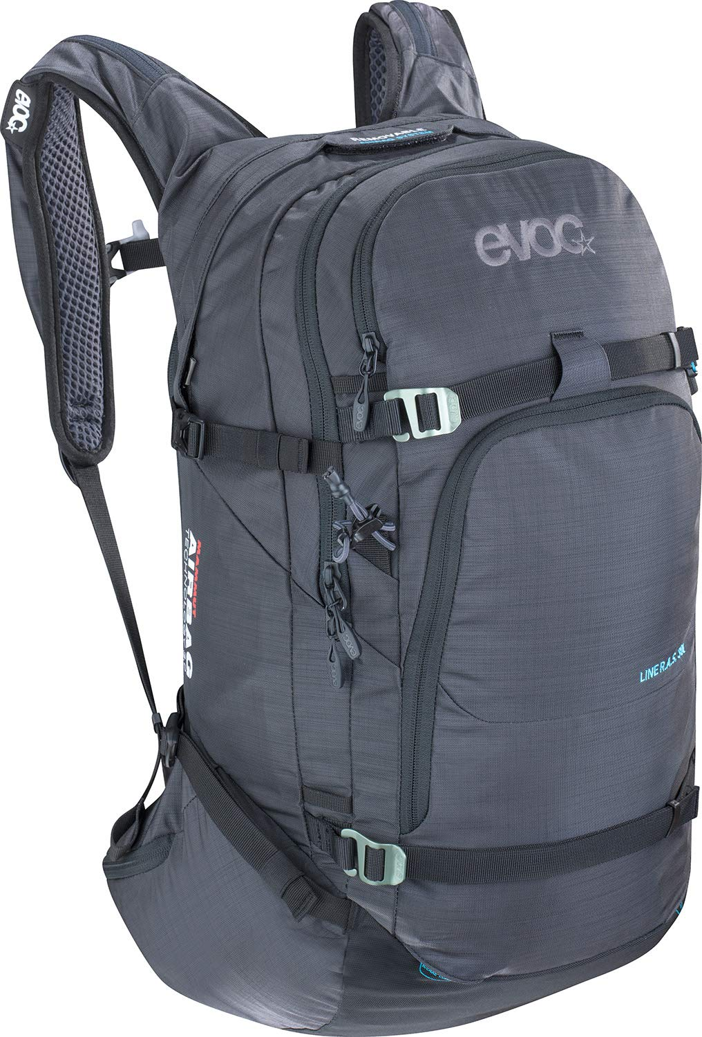 EVOC Sports GmbH LINE R.A.S. 30l Lawinen Rucksack Heather Carbon Grey one
