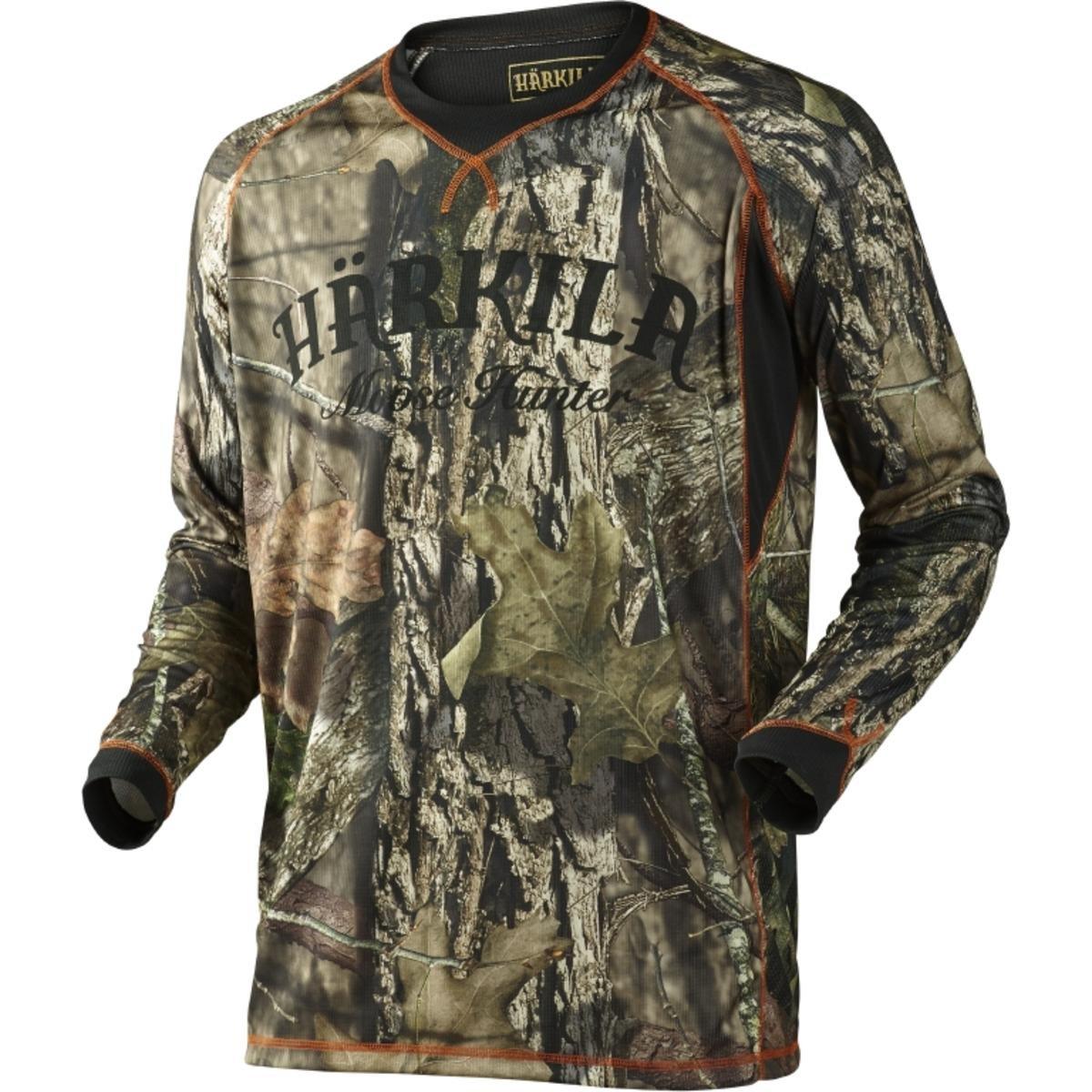 Harkila Moose Hunter L//S t-shirt MossyOak/®Break-up Country/®