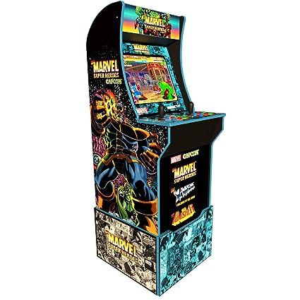 Amazon.com: Arcade 1Up Capcoms Marvel Super Heroes at-Home ...