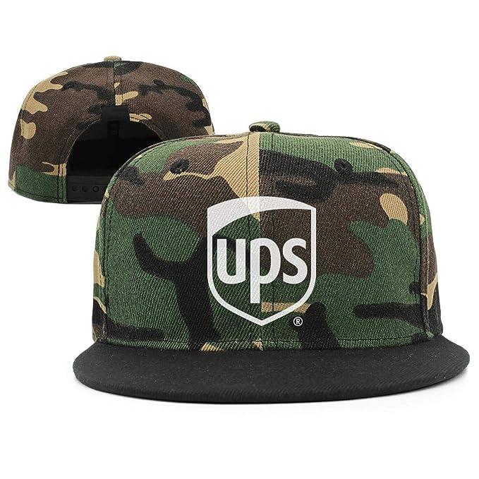 7be8a4bf Amazon.com: GRFF Unisex Trucker Hat Printing Ventilate UPS-White ...