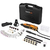 Tacklife RTD35ACL Strumento Multifunzione,Utensile Rotante con 83 Accessori, Mini Drill con Velocita' Variabile per Incidere, Tagliare, Lucidare, Levigare, Trapanare ecc