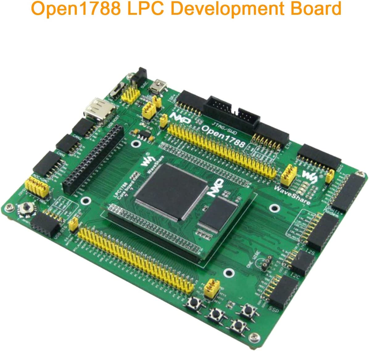 pzsmocn Open Source Electronic Module Lpc Cortex M3 with Lpc1788Fbd209 As Main Control Chip,Integrates Various Standard Interfaces Open 1788 Development Board Kit Support Various Module Access