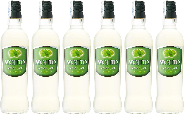 Capitan Jack Mojito - 6 Paquetes x 700 ml - Total: 4200 ml ...