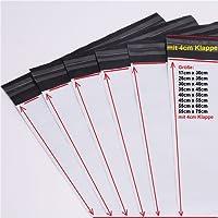 logei® Film 100 pochettes d'expédition en plastique Livraison Sacs Ware Pochette Sac Livraison, opaque (30 cm x 40 cm)