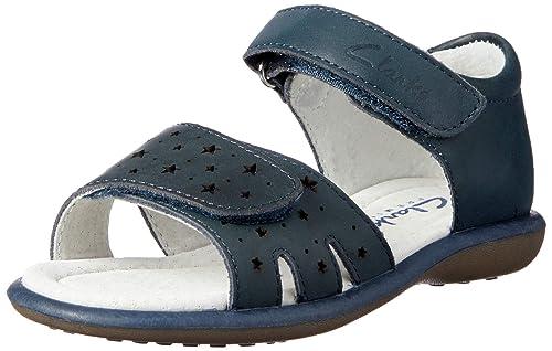 49c86d5b7390 Clarks Girls  Parade Fashion Sandals