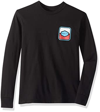 9e01eb23 Amazon.com: RVCA Boys' Big Milton Long Sleeve Tee: Clothing