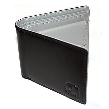 6098de7dc31d3c KLINQ® Echt Leder Portemonnaie in Edler Geschenkbox LIMITIERT   Moderner  Zwei-Farben-Look