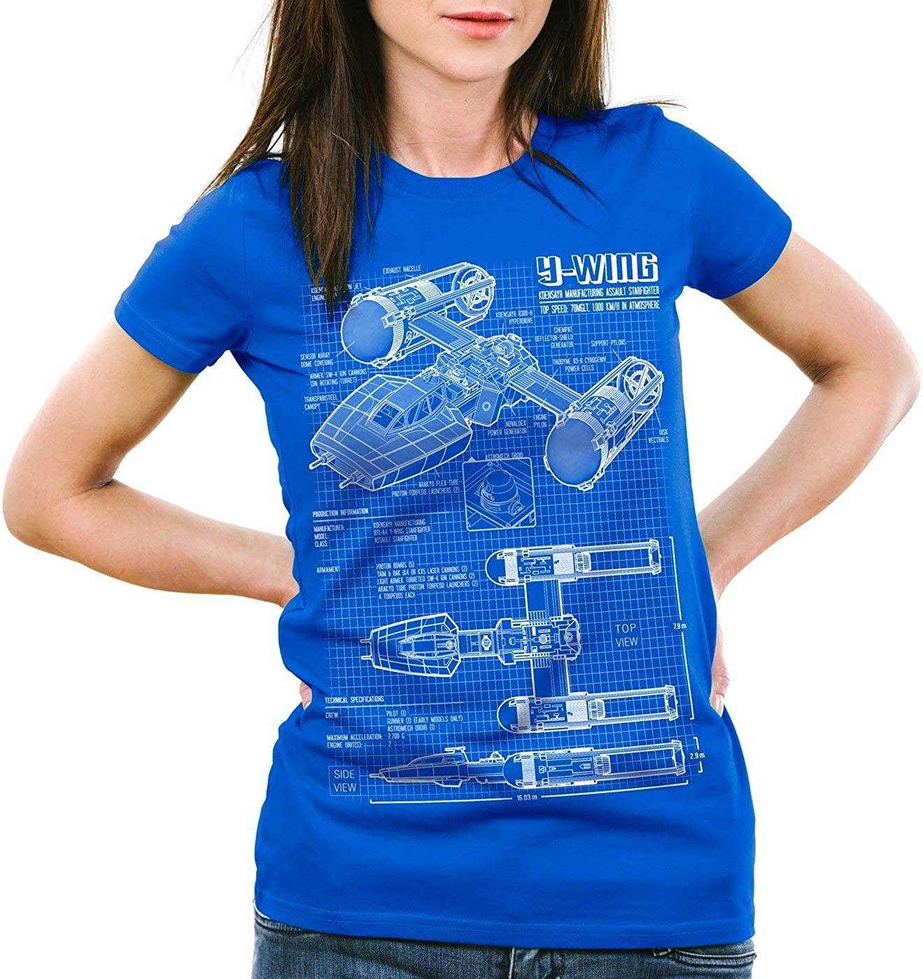 Freestyle Tee Y Wing Damen T Shirt Rebellion |