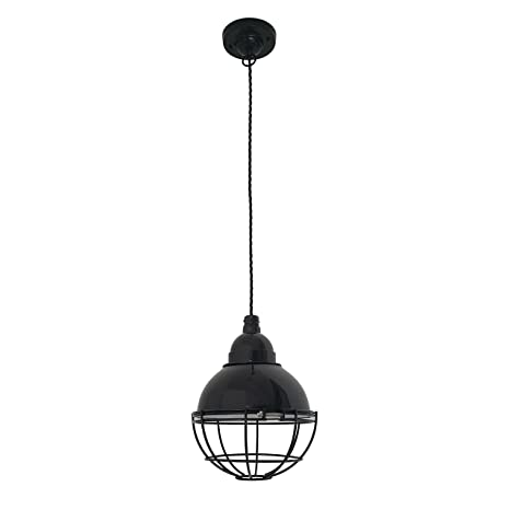 Faro Barcelona 62802 - CLAIRE Lámpara colgante negra: Amazon ...