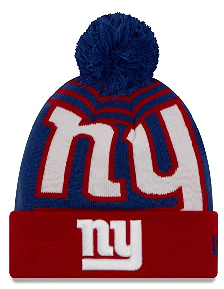 huge selection of 12c05 6eb68 ... italy new york giants new era nfl quotlogo whiz 2quot cuffed knit hat  with 21ec7 413da