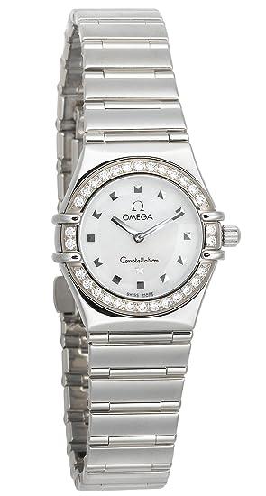 Omega constelación de 1465.71.00 mi elección de la mujer cuarzo Mini reloj