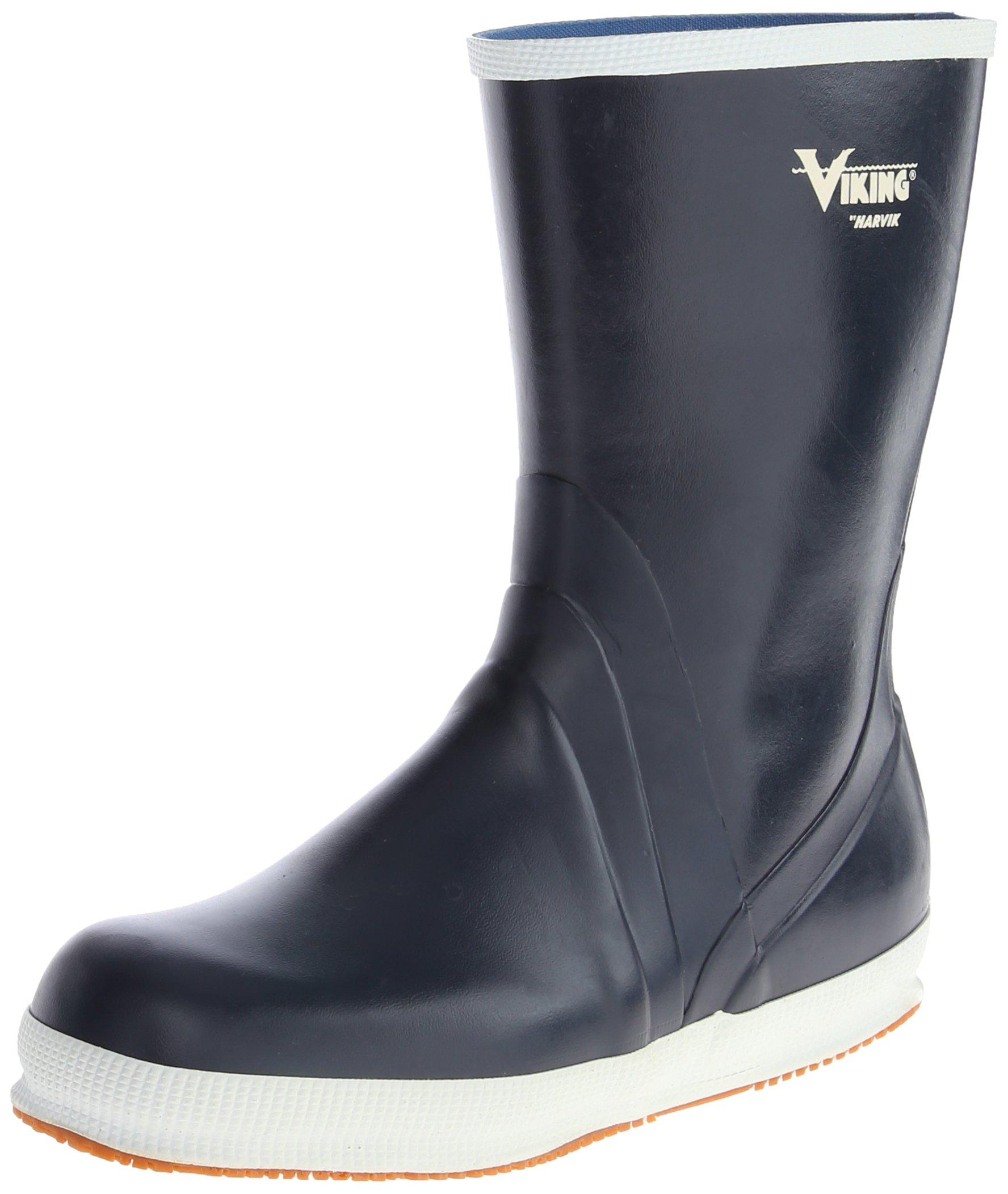 Viking Footwear Mariner Kadett Waterproof Slip-Resistant Boot,Navy,13 M US by Viking Footwear