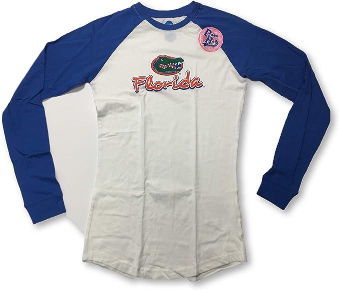 Elite Fan Shop NCAA Mens Florida Gators Long Sleeve Shirt Dark Heather Back Florida Gators Dark Heather X Large