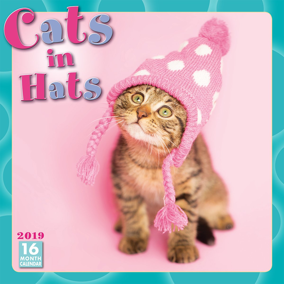 2019 Cats in Hats 16-Month Wall Calendar: by Sellers Publishing, 12x12 (CA-0378) Calendar – Wall Calendar, Jun 22 2018 Sellers Publishing Inc Inc. 1531903789 /