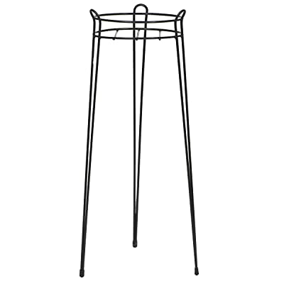 CobraCo 30-Inch Black Basic Plant Stand S1030-B : Plant Stands Outdoor : Garden & Outdoor