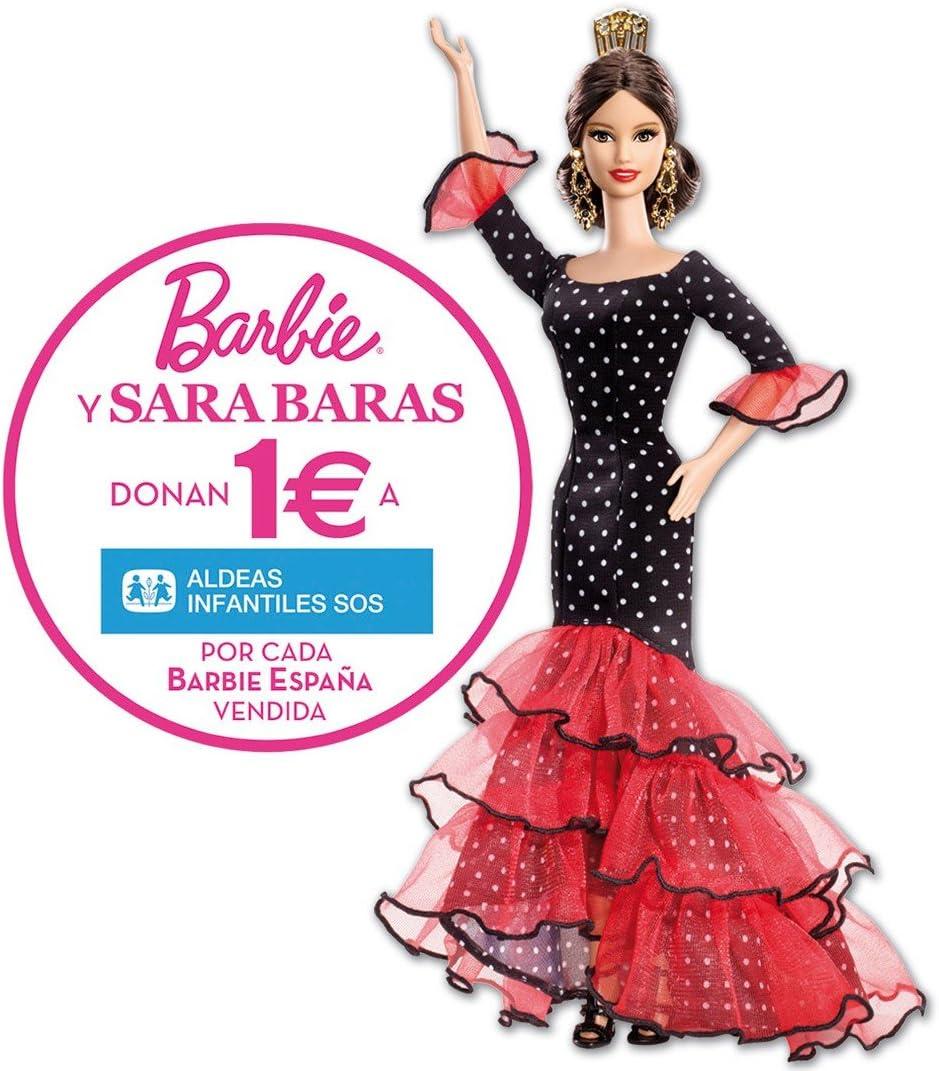 Amazon.es: Mattel - Barbie de españa - sara baras: Juguetes y juegos