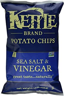 product image for Sea Salt and Vinegar Potato Chips 13 Ounces (Case of 10)