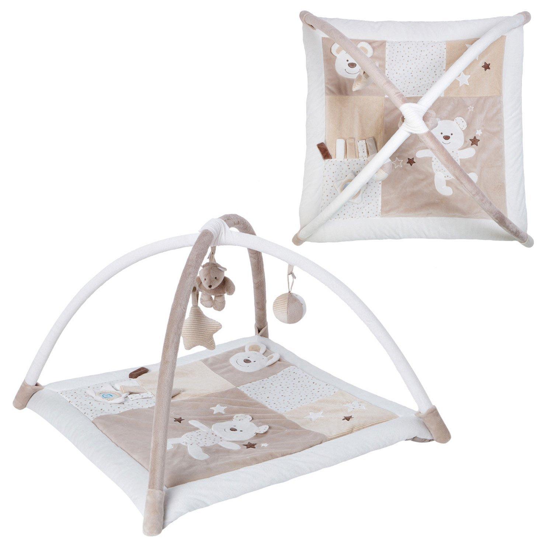 Minidream Large Cream Baby Playmat Activity Gym Play Mat Baby