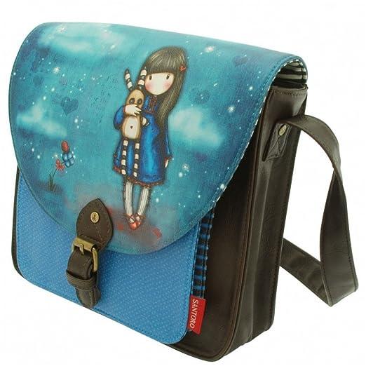 Santoro Gorjuss Hush Little Bunny Saddle Satchel Bag: Amazon ...