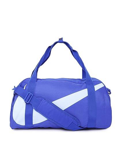 Nike Gym Club Blue Duffel Bag (Hyper Royal)  Amazon.in  Bags ... ff2cd121c8714