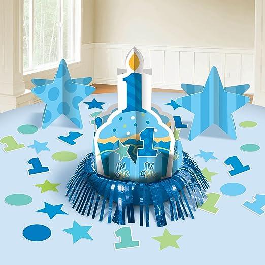 amscan International Primer cumpleaños de niño Kit de ...