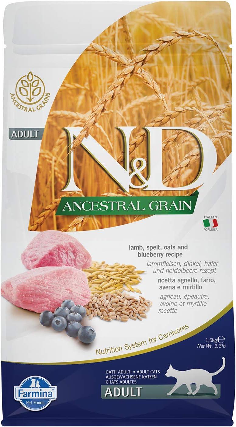 N&D LOW GRAIN N&D Low Grain con Cordero y arándano seco Gato 1,5 kg