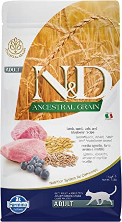 Farmina Flour - Nd Ancest. Agn - Cranberry Kg. 1.5 Ad.Cat: Amazon.co.uk:  Pet Supplies