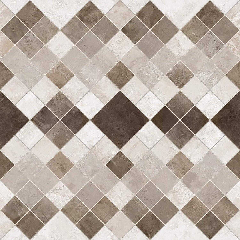 extra abriebfester PVC Bodenbelag Oberfl/äche strukturiert gesch/äumt Meterware edle Steinoptik casa pura/® CV Bodenbelag Toscana Sand - Naturstein Marmor Mosaik 200x150 cm