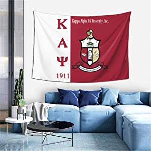 XueDaoNer Kappa Alpha Psi Tapestry Wall Hanging Home Decor Extra Large tablecloths for Bedroom Living Room Dorm Room 60x40 Inches