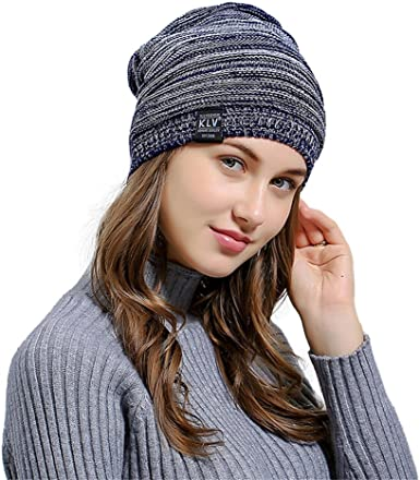 Winter Knit Skull Beanie Hat Women Mens Slouchy Fashion Unisex Warm Cap